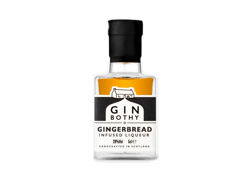 Gin Bothy Gingerbread Infused Liqueur 5cl xx