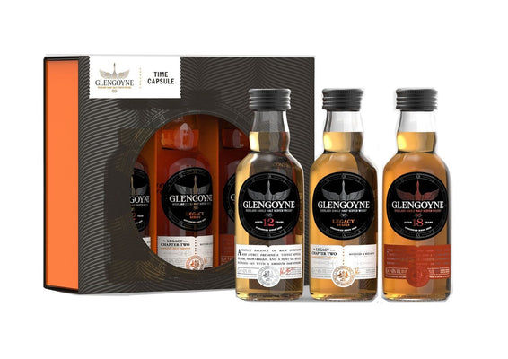 Glengoyne Whisky Time Capsule Gift Pack
