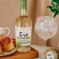 Edinburgh Gooseberry & Elderflower Full Strength Gin 70cl