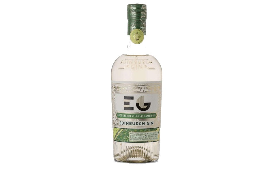 Edinburgh Gooseberry & Elderflower Full Strength Gin 70cl xx