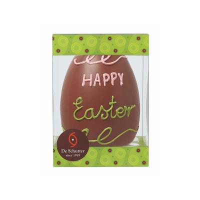 'Happy Easter' Milk Chocolate Easter Egg