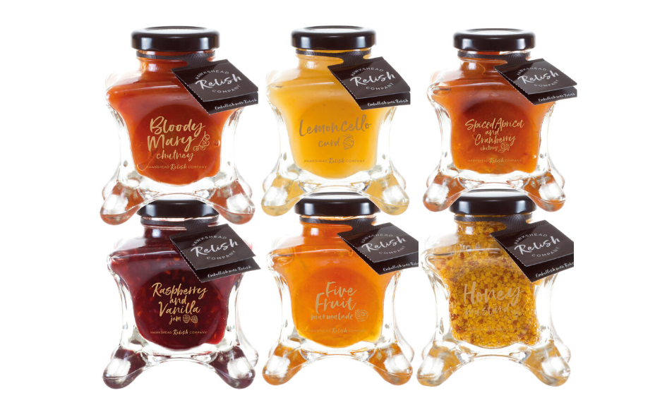 Couture Large Jars - Preserves & Chutneys xx