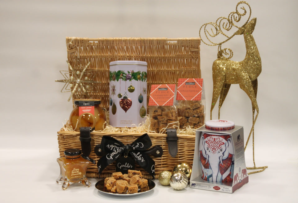Tea, Biscuits and Luxury Treats Christmas Hamper xx