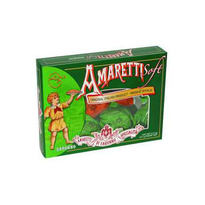 Soft Amaretti Green Box