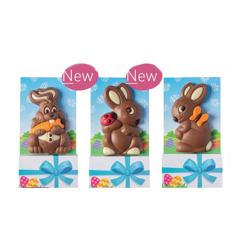Three Easter Figures & Gift Card Gift Set xx