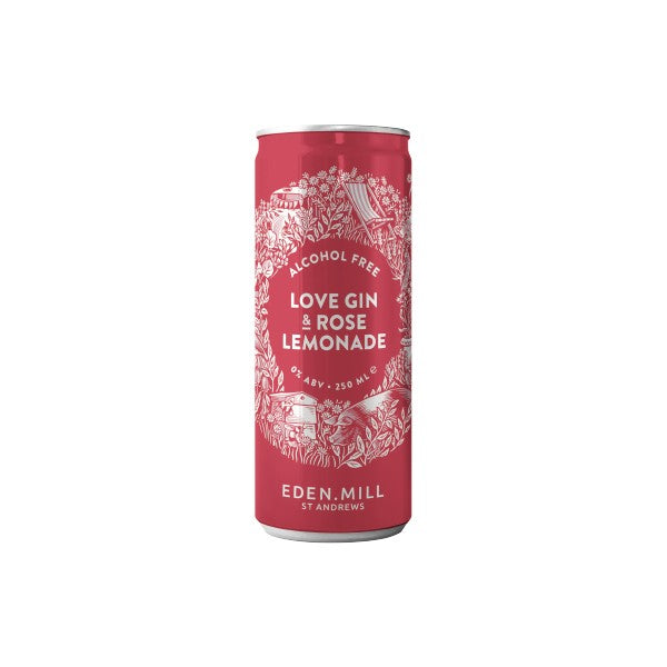 Love Gin & Rose Lemonade Cans (alcohol-free) xx