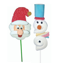 Marshmallow Christmas Lolly