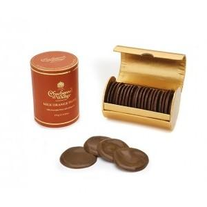 Charbonnel et Walker Milk Orange Chocolate Thins