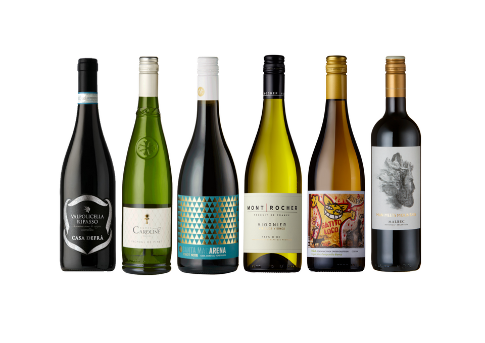 Mixed Case of Red & White - Our top 6 red and white wines for Winter 2020 xx