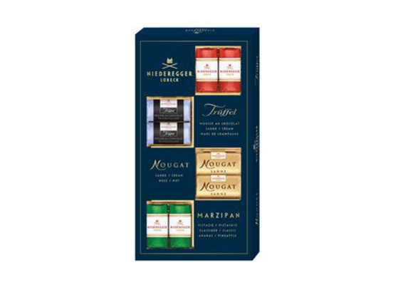 Niederegger's Master Selection Box of Marzipan Treats