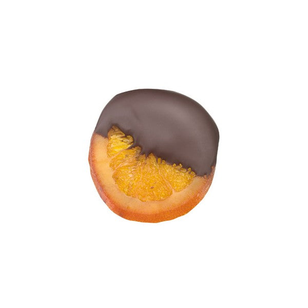 Orange Slices Dipped in Dark Chocolate