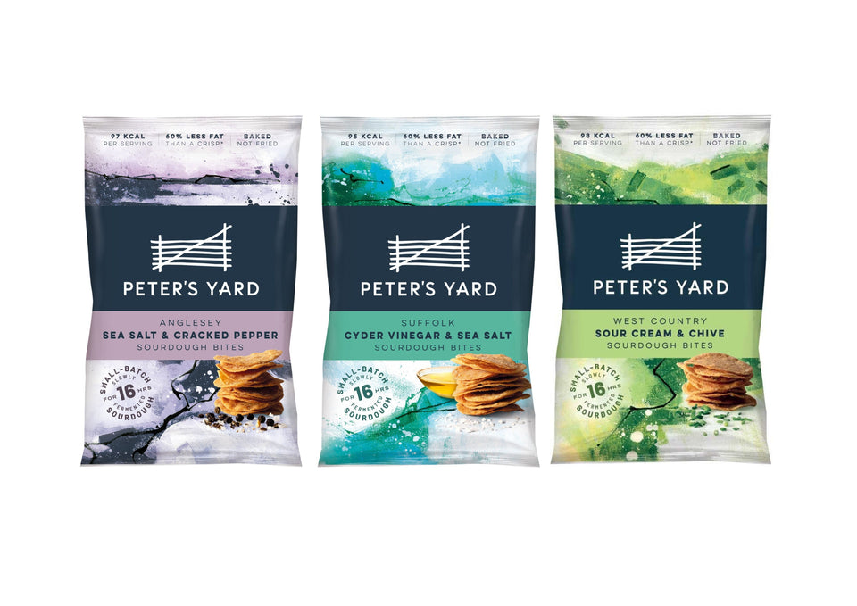 NEW - Peter's Yard Sourdough Bites xx