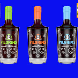 Pilgrim's Blueberry and Basil Liqueur