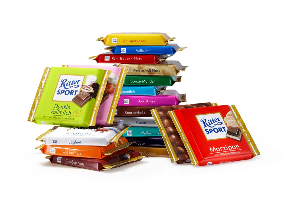 Ritter Sport Bars from Germany