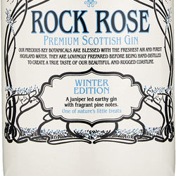 Rock Rose Winter Edition Gin