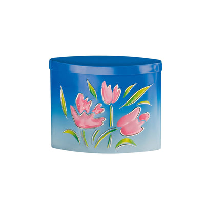 Summer Breeze Tulips Gift Tin of Chocolate Strawberry Creams