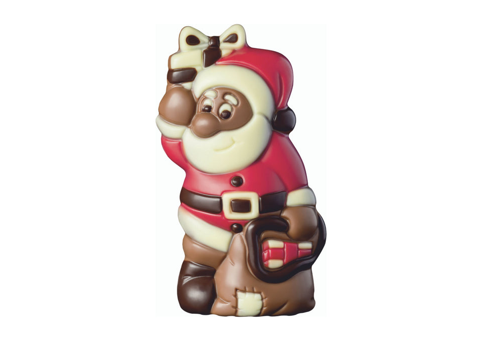 Chocolate Santa with Sack xx