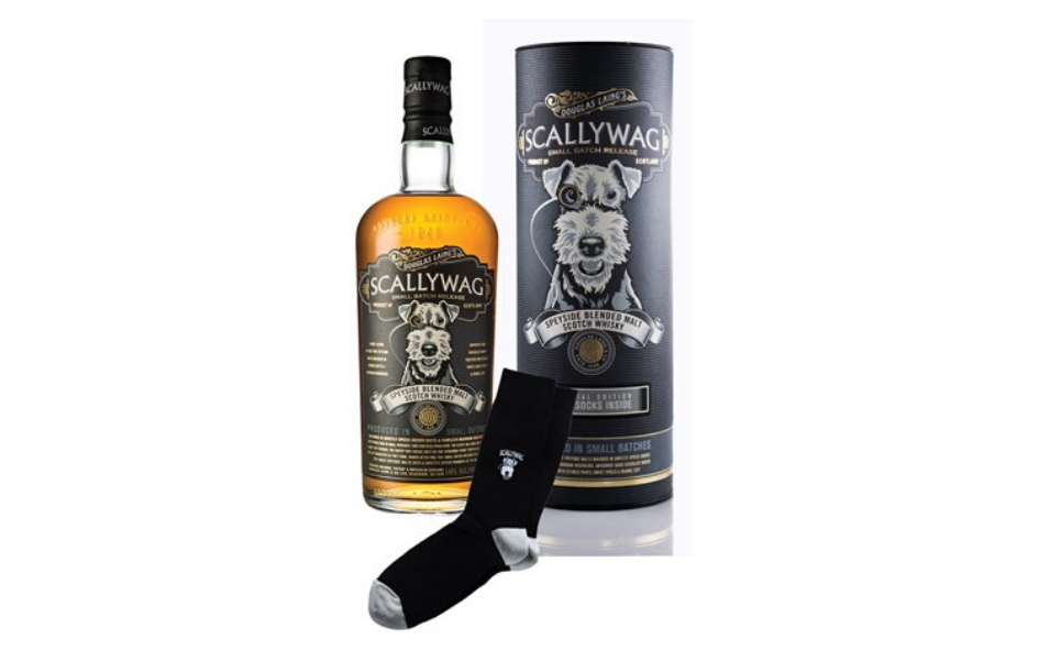 Scallywag Whisky Gift Pack with Socks xx