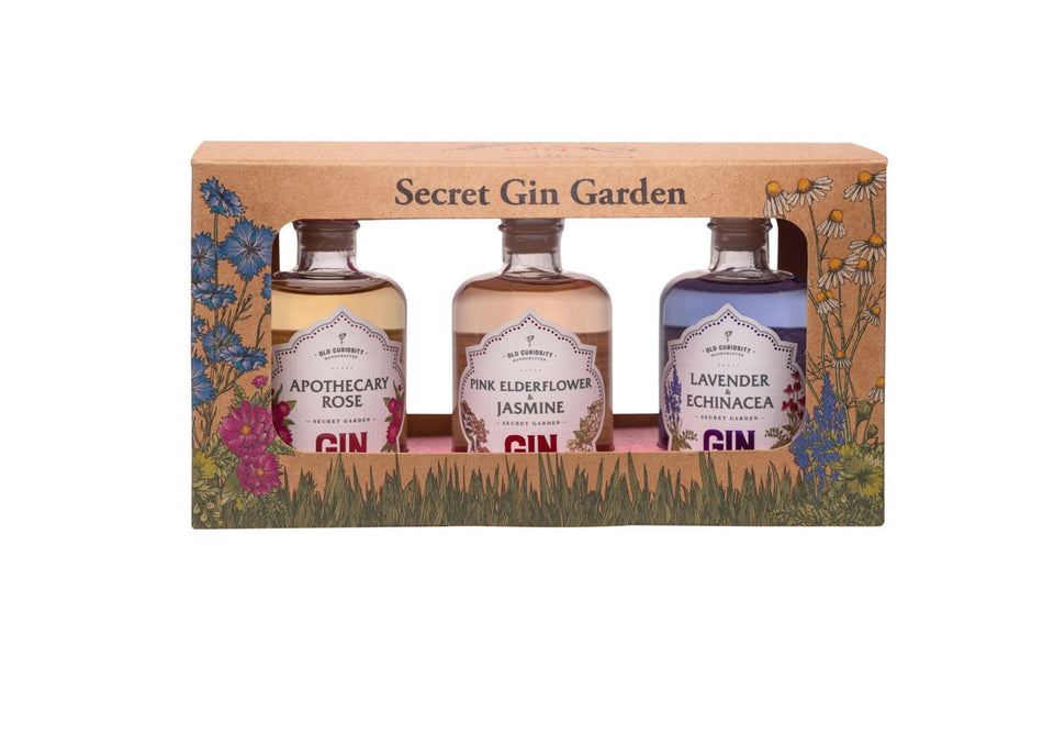 Old Curiosity Secret Gin Garden Gift Pack xx