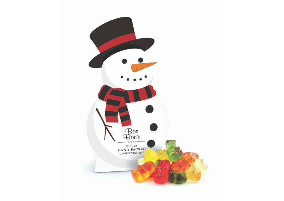 Snowman Gift Box of Sweets xx