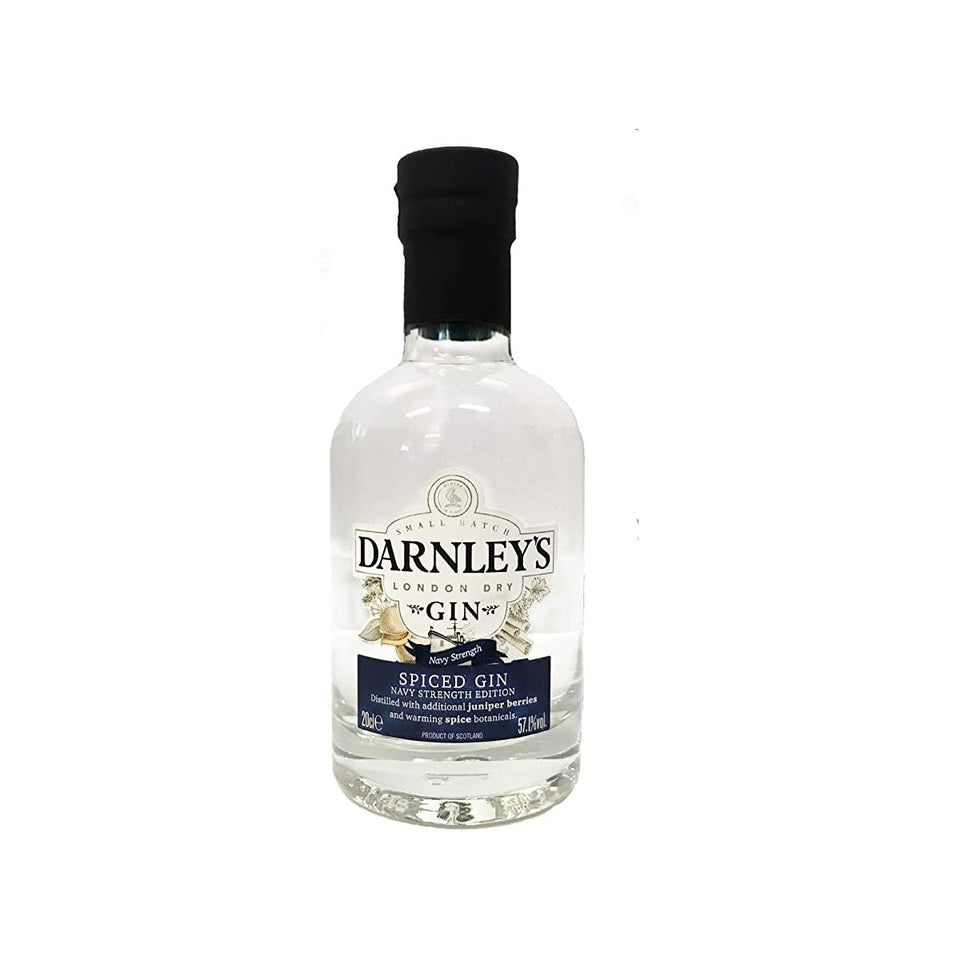 Darnley's Spiced Navy Strength Gin 20cl xx