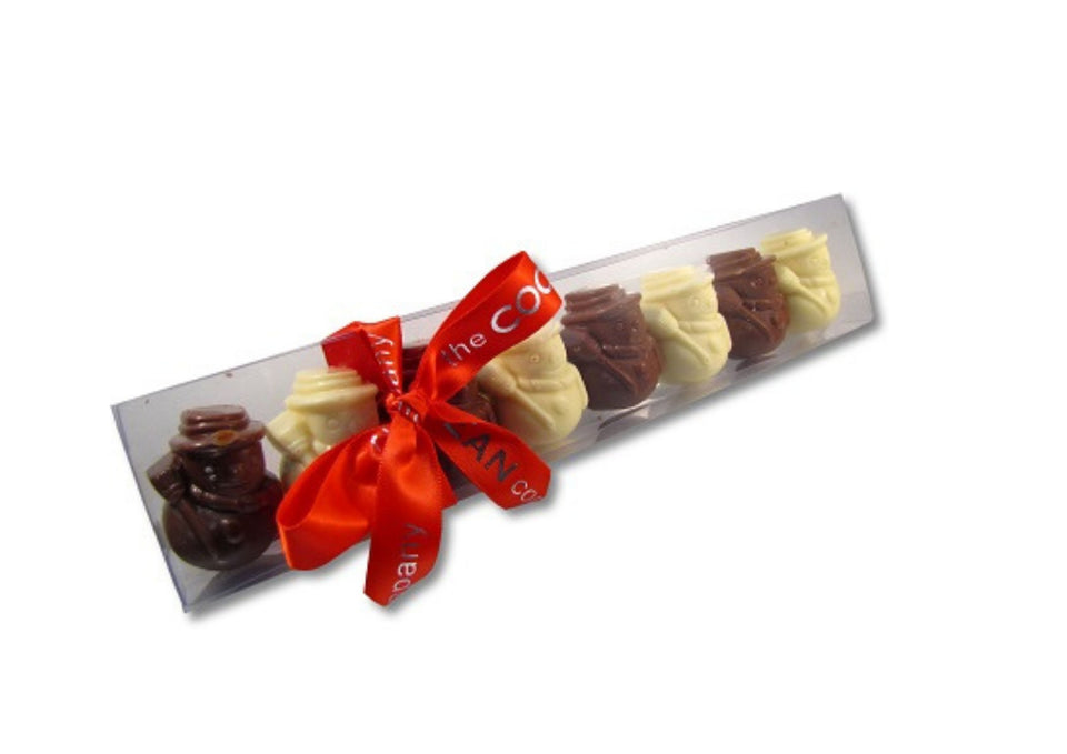 Festive Chocolate Strips by Cocoabean xx