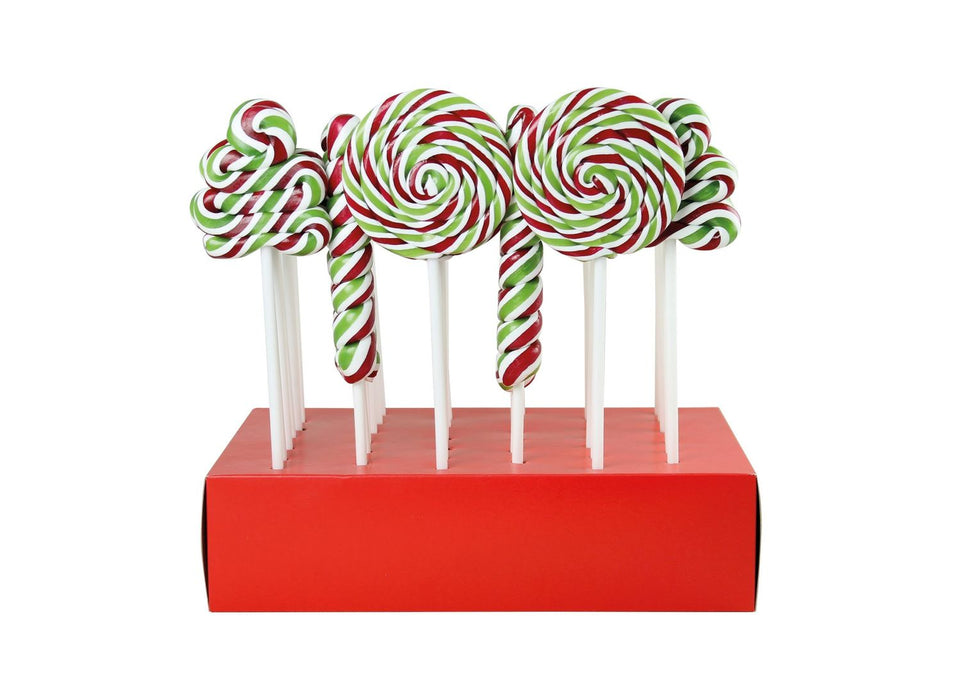 Christmas Striped Lollies xx