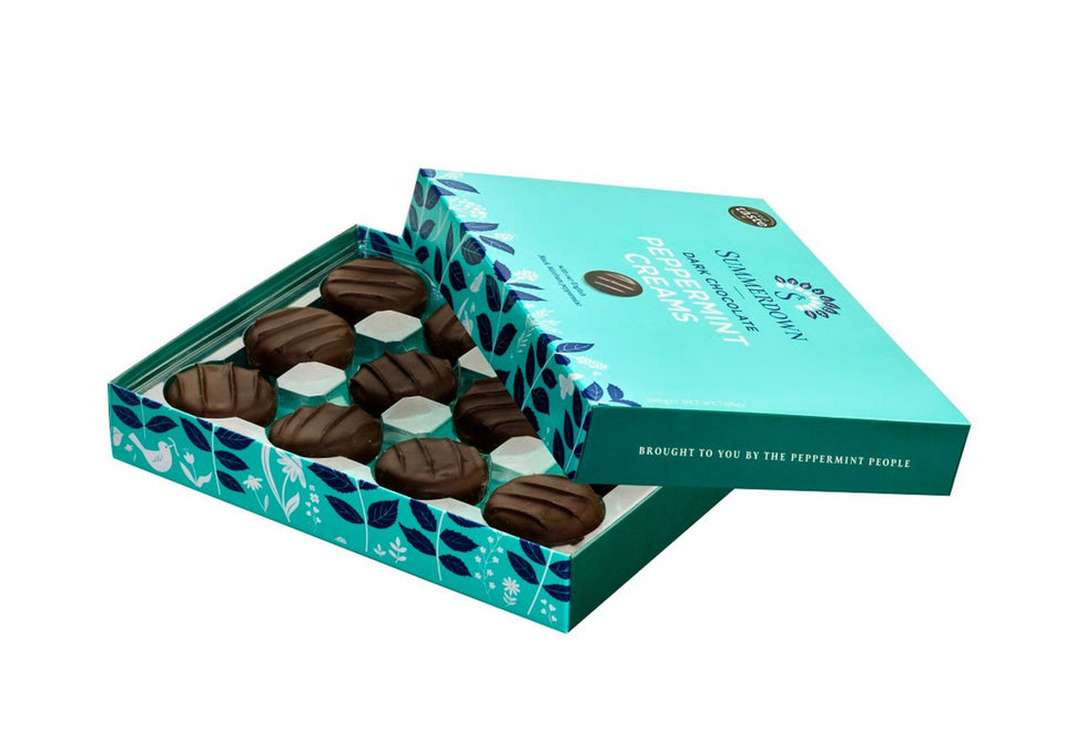 Summerdown Dark Chocolate Peppermint Creams xx