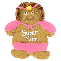 Gingerbread Super Mum