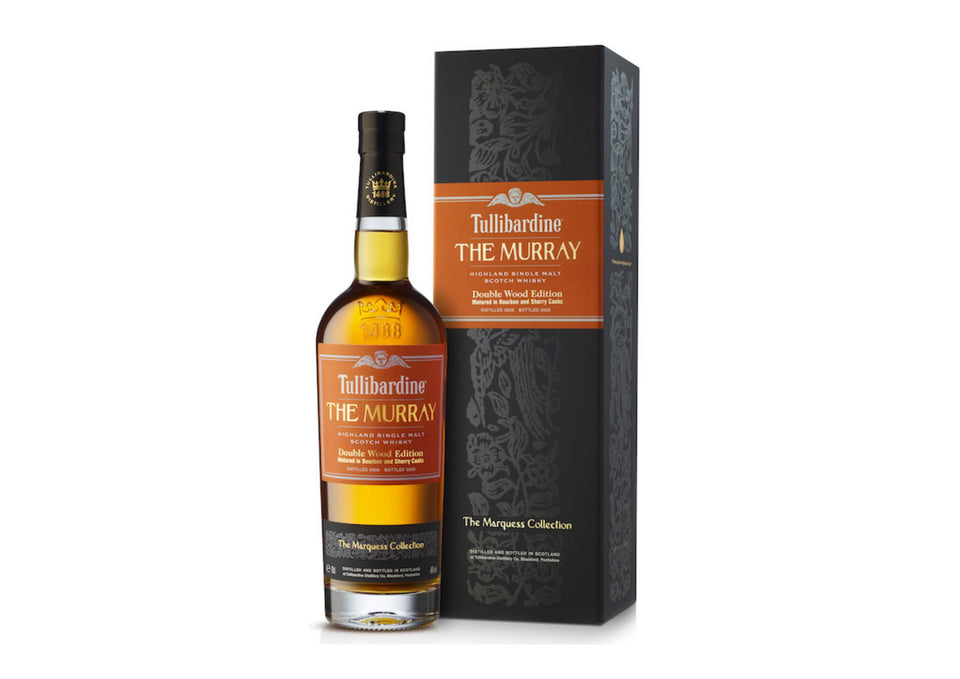 Tullibardine Whisky - The Murray Double Wood Single Malt Whisky xx