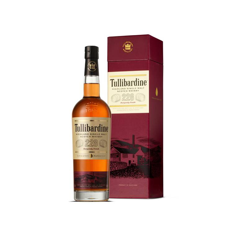 Tullibardine Single Malt Whisky - 228 Burgundy Cask Finish xx