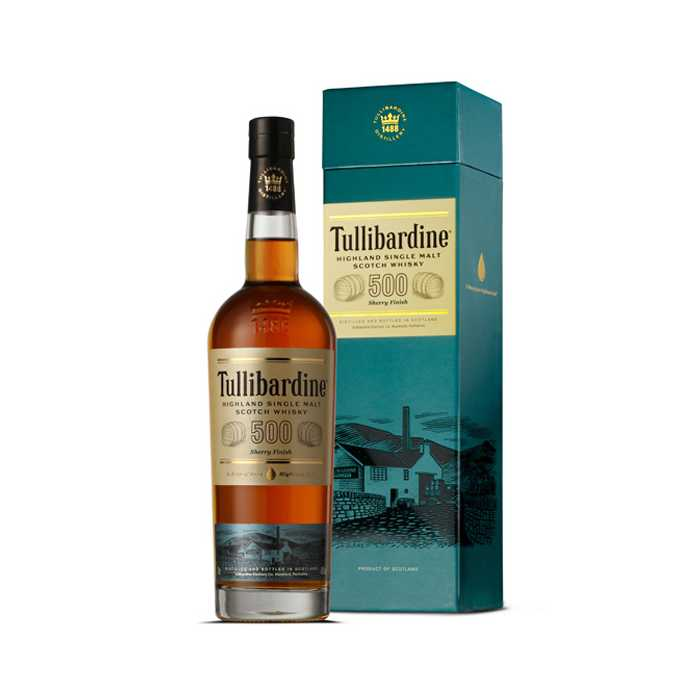 Tullibardine Single Malt Whisky - 500 Sherry Cask Finish xx