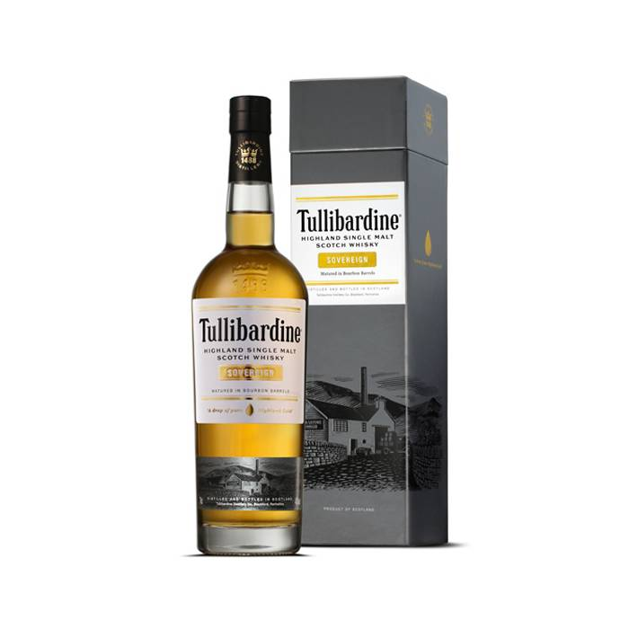 Tullibardine Sovereign Single Malt Whisky xx