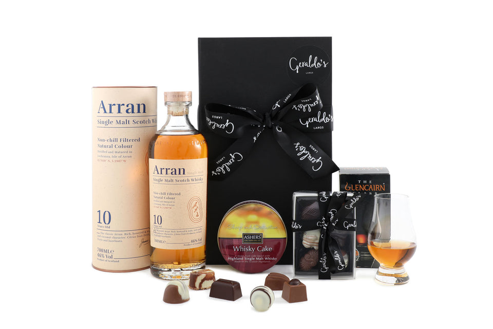 Whisky, Chocolates & Cake Gift Hamper xx