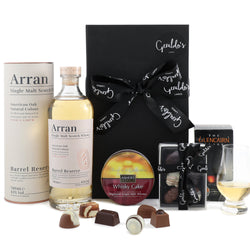 Whisky, Chocolates & Cake Gift Hamper