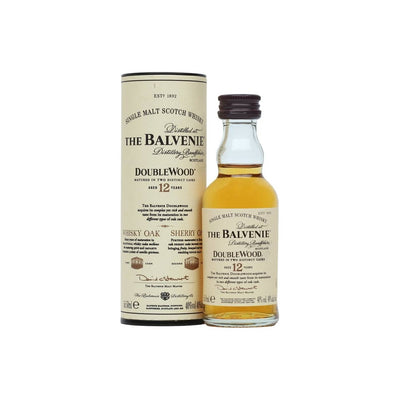 Balvenie Double Wood 12 Year Old Whisky 5cl
