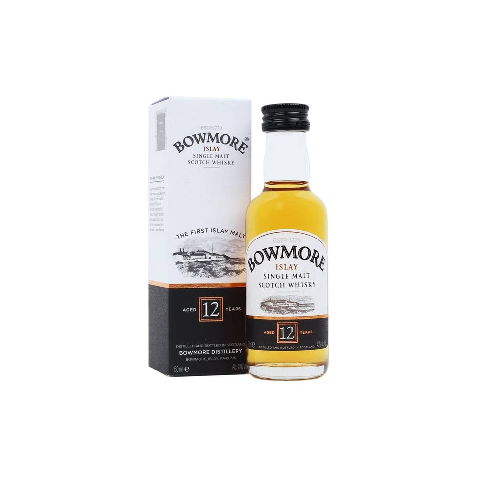 Bowmore 12 Year Old Whisky 5cl xx