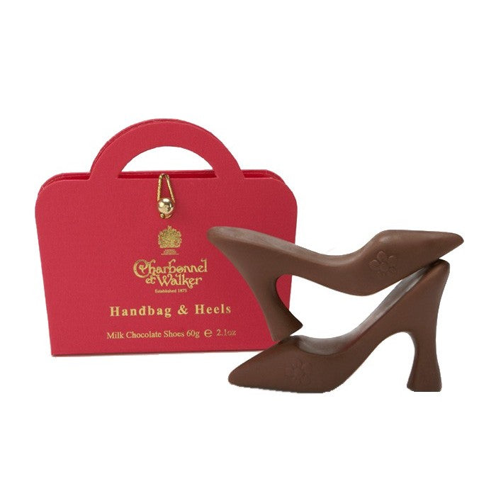 Charbonnel et Walker Handbag & Chocolate Heels xx