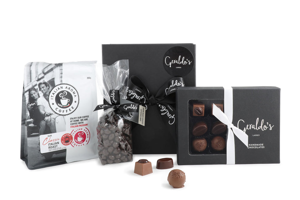 Luxury Coffee and Chocolates Hamper xx