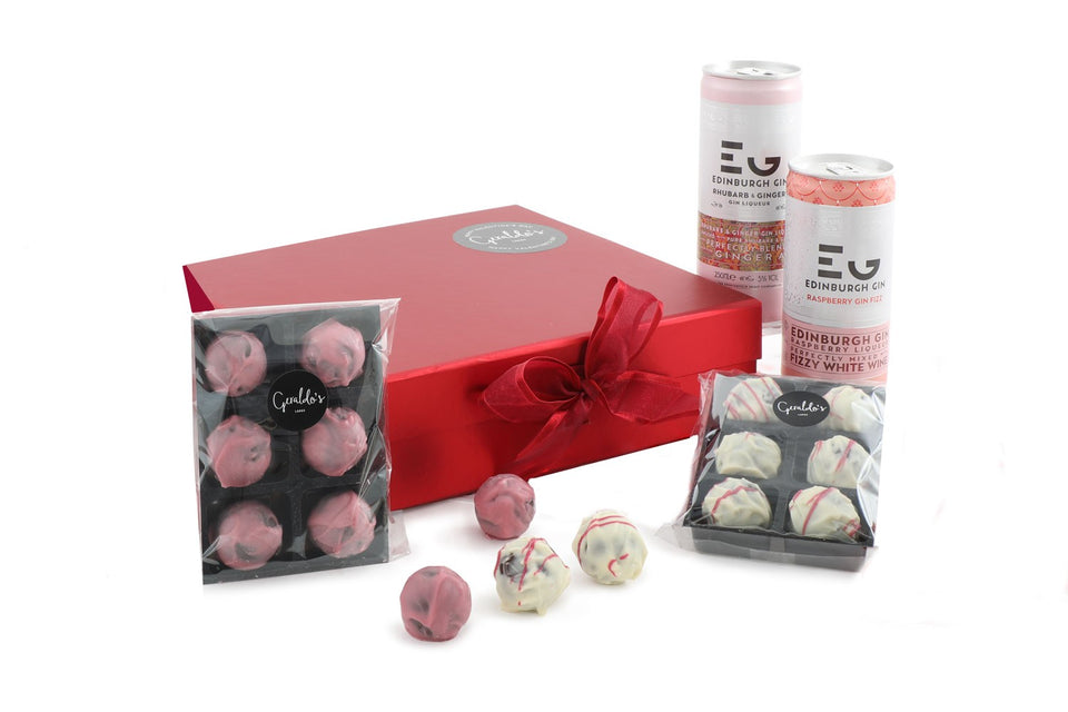 Edinburgh Gin & Chocolates Hamper xx