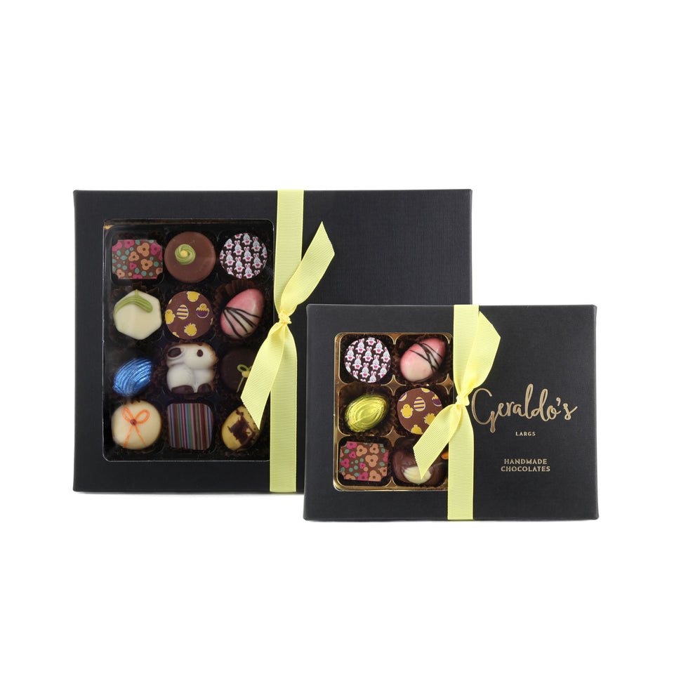 Spring Deluxe Gift Box of Handmade Chocolates xx