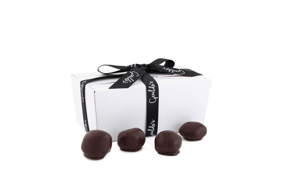 Ballotin Gift Box of Chocolate Covered Stem Gingers xx