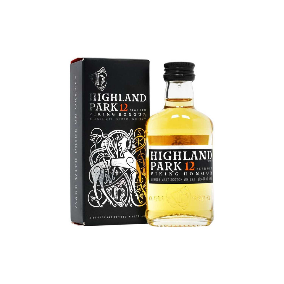 Highland Park 'Viking Honour' 12 Year Old Whisky 5cl xx