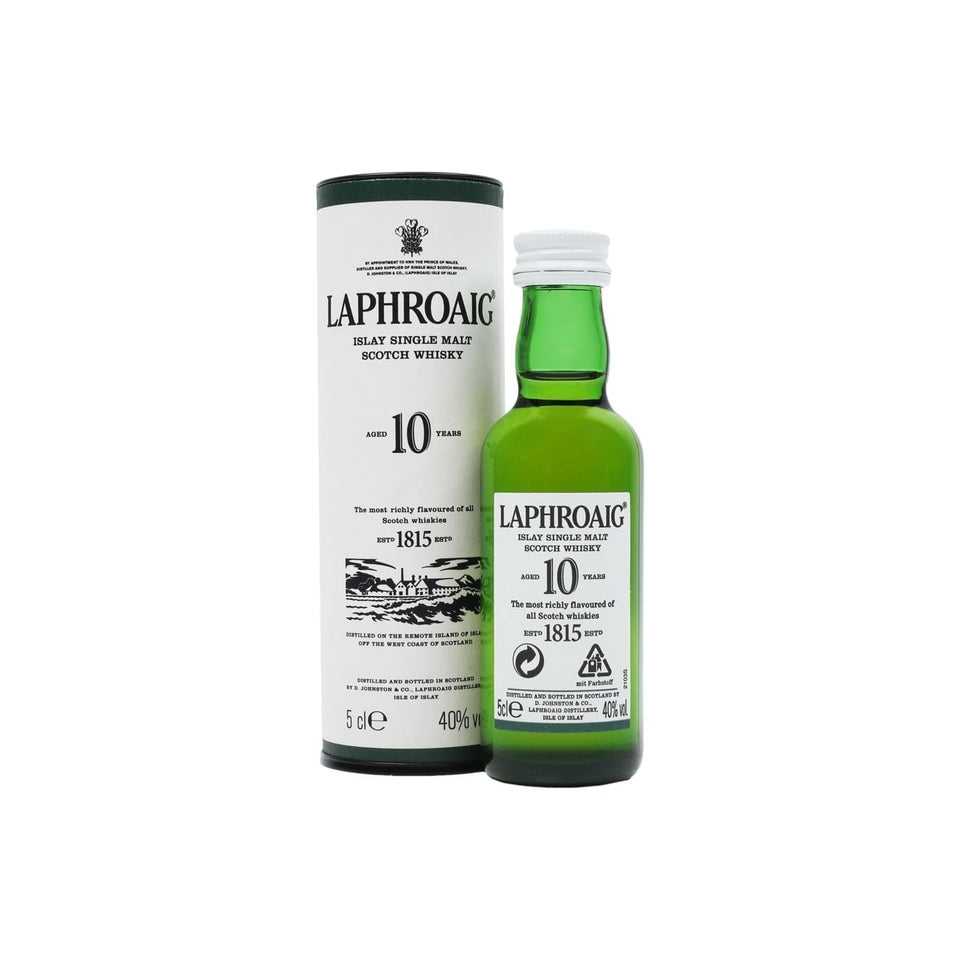 Laphroaig 10 Year Old Whisky 5cl xx