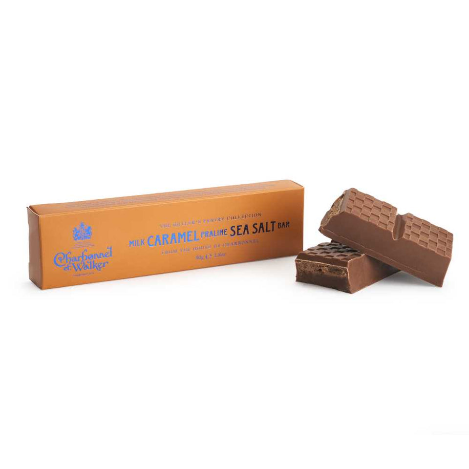 Charbonnel et Walker Milk Caramel Praline Sea Salt Bar xx