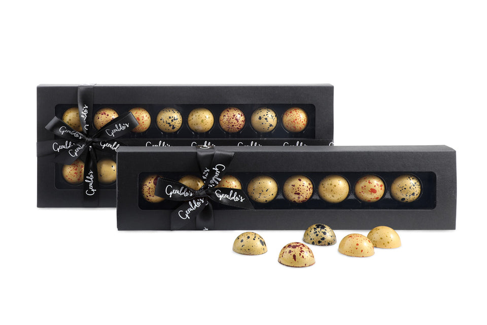 Mini Picasso Golden Chocolates by Visser xx
