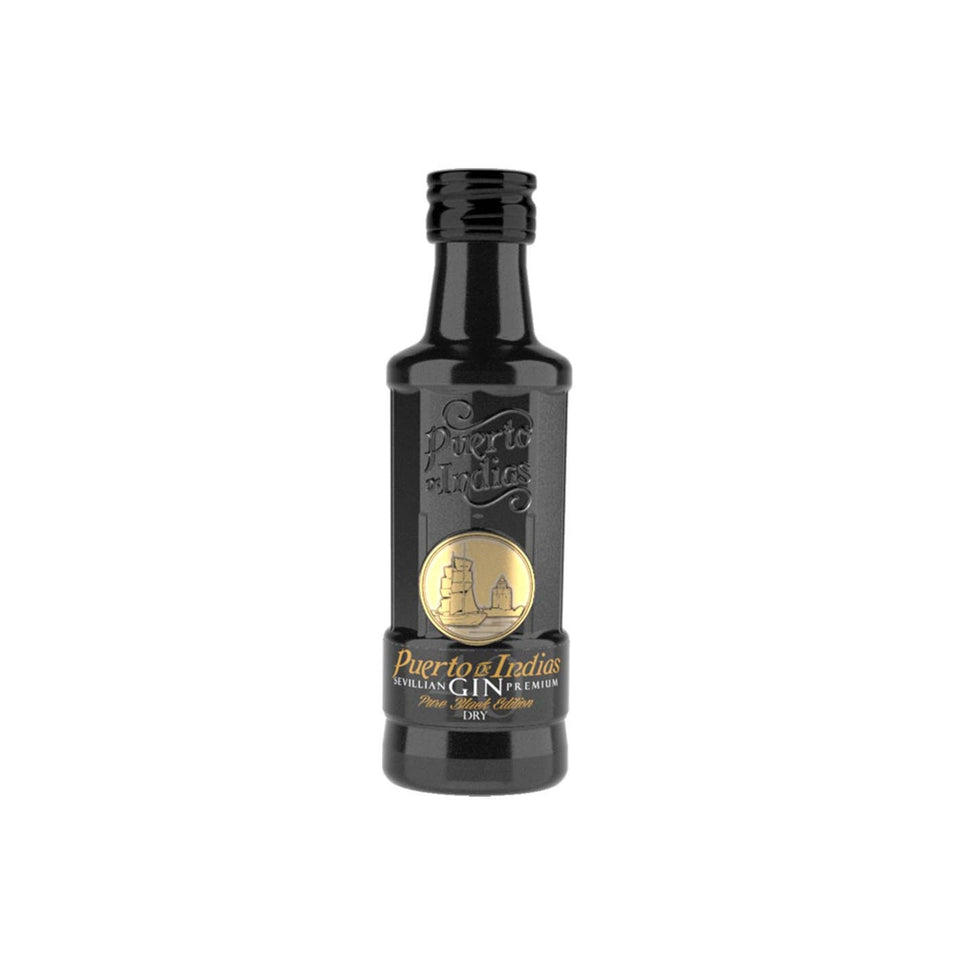 Puerto de Indias Gin - Pure Black Edition 5cl xx