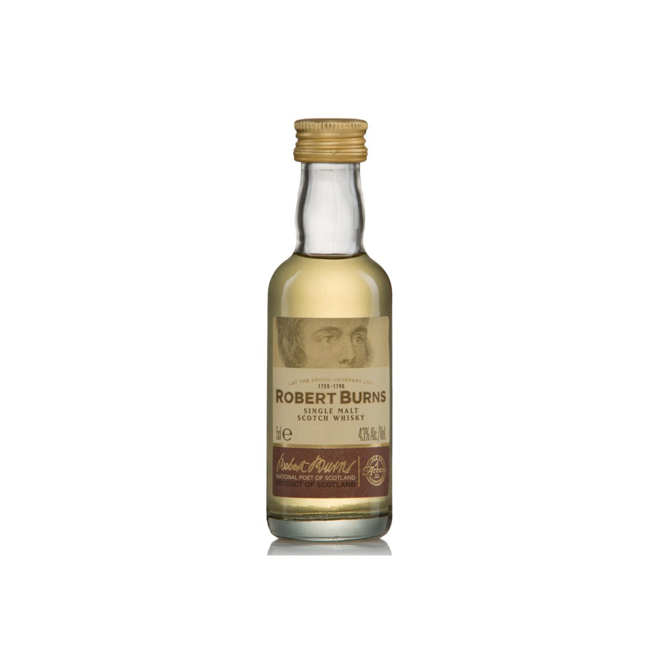 Robert Burns Single Malt Whisky 5cl xx
