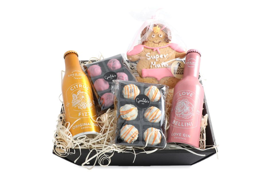 Super Mum Cocktails and Truffles Gift Hamper xx
