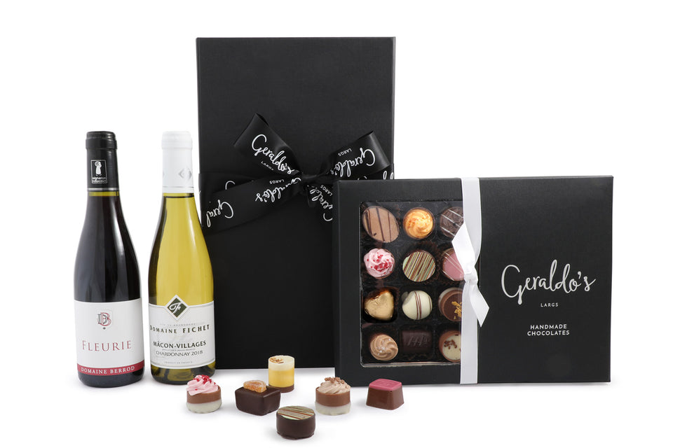 Wine Duet & Chocolates Hamper xx